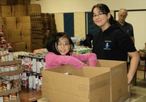 2011 Christmas Hamper Campaign: 310 hampers were made for delivery to Winnipeg Families.